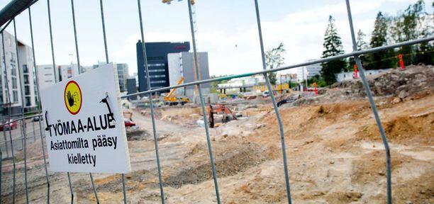 Espoossa sijaitsevalla rakennustyömaalla räjähti tiistaina 3. heinäkuuta.
