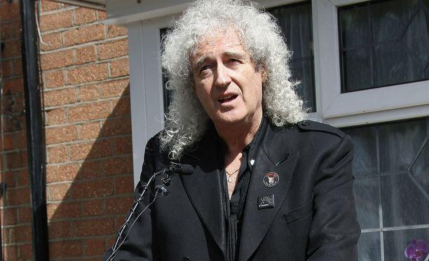 Brian May kertoo bändikaverinsa viimeisistä hetkistä.