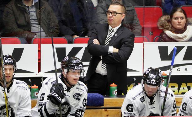 Ari-Pekka Selin näki Tappara-pelissä pudotuspelihenkeä.