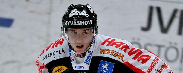 Sami Vatanen on JYPin avainpelaaja.