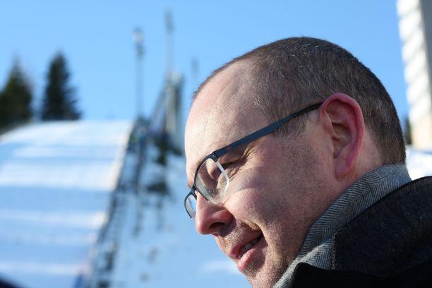 Koivisto painotti puheessaan Matti Nykäsen urheilusaavutuksia.