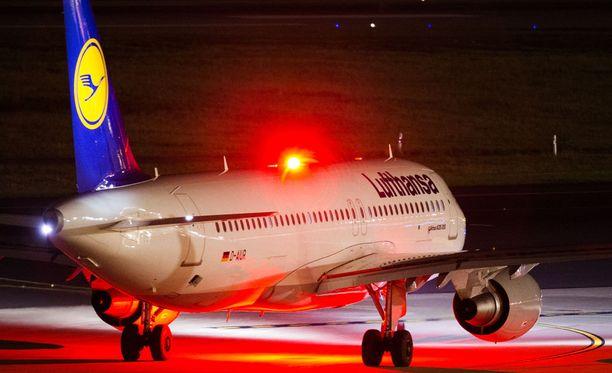 Lufthansa ei lennä keskiviikkona saksalaisilta lentokentiltä.