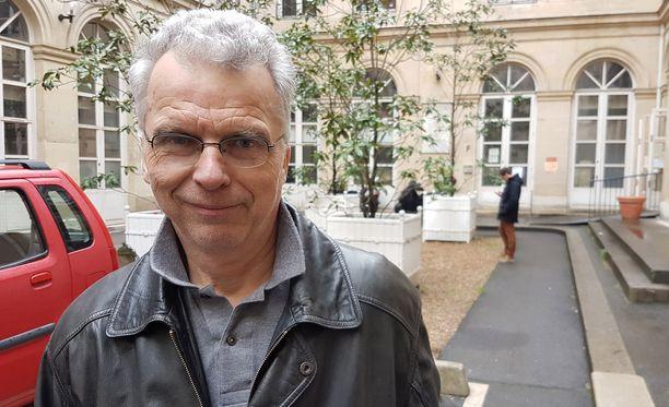 Eläkeläinen Antoine Laveur, 66.