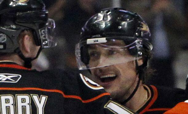 Teemu Selänne on yksi NHL:n kaikkien aikojen pelaajista.