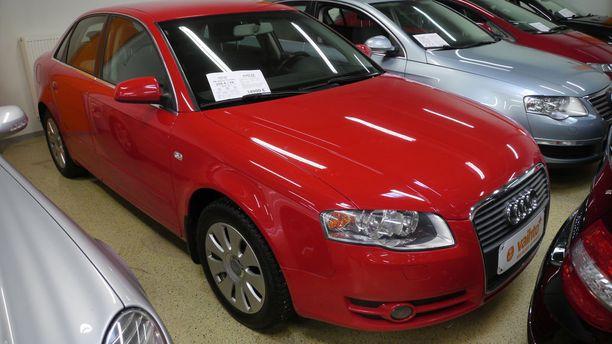 Suosituin käytettyjen autojen hintaluokka on 10 000 - 20 000 euroa.