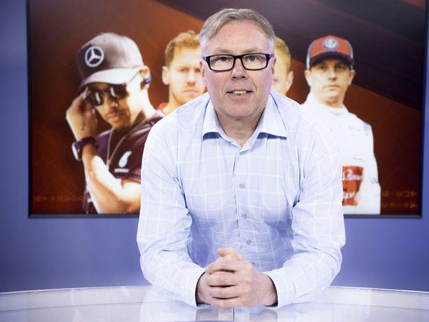 62 GP-starttia vuosina 1989–1994 ajanut Jyrki Järvilehto toimii kaudella 2019 Iltalehden F1-asiantuntijana.