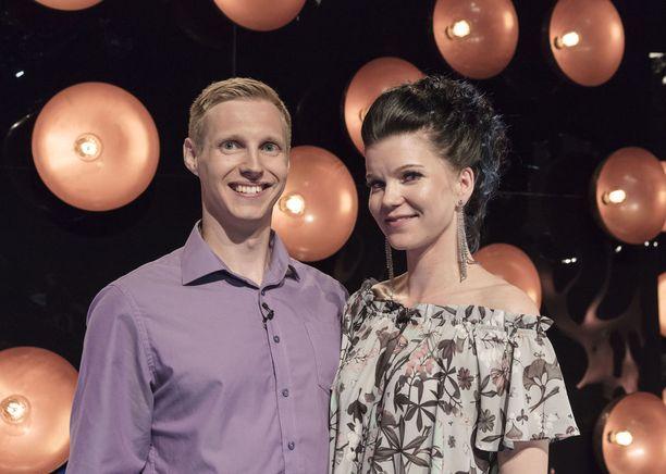 Lauri ja Minja saivat toisistaan ohjelman kautta hyvät ystävät.