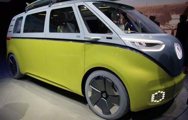 Buzz on Volkkarin klassikkobussin retromalli, sähköisenä. Tuotantoon vuonna 2022.