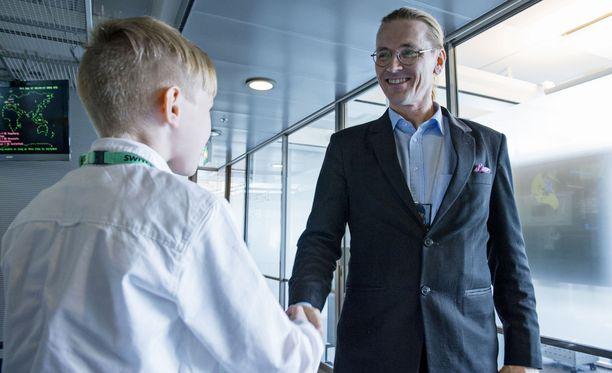 F-Securen tutkimusjohtaja Mikko Hyppönen toivotti Janin tervetulleeksi F-Securelle töihin, kunhan hän kasvaa isoksi.