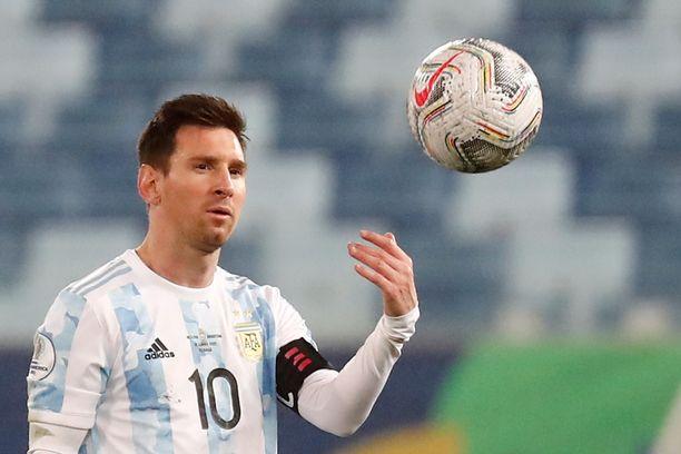 Lionel Messi on jalkapallomaailman legendoja.