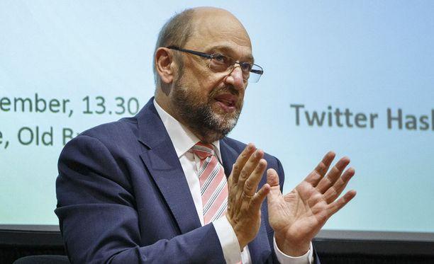 Saksassa Euroopan parlamentin entinen puhemies Martin Schulz on nimitetään tänään virallisesti sosiaalidemokraattisen puolueen kansleriehdokkaaksi.