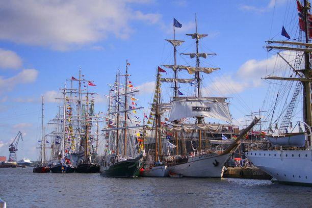 Edellisen kerran suurten purjelaivojen tapahtuma nähtiin Kotkassa vuonna 2007.