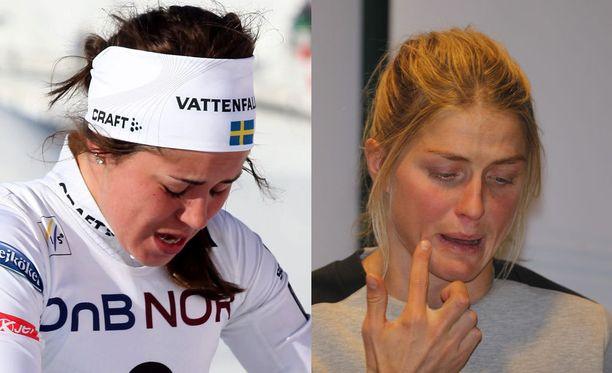 Anna Haag kertoi ystävänsä Therese Johaugin tuskasta.