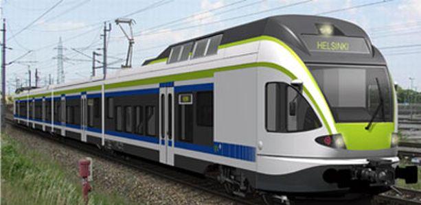 Uudet junat ovat ilmastoituja ja sen pituus on 75 metriä.