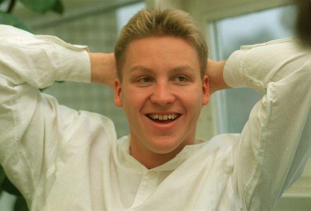 Jani Sievinen voitti pitkän radan maailmanmestaruuden vuonna 1994.