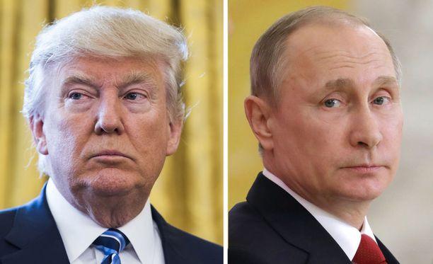 Trump ja Putin tapaavat toisensa Helsingissä maanantaina.