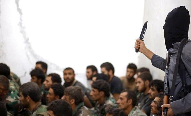 Isisiin on liittynyt taistelijoita ympäri maailmaa. Arkistokuva.