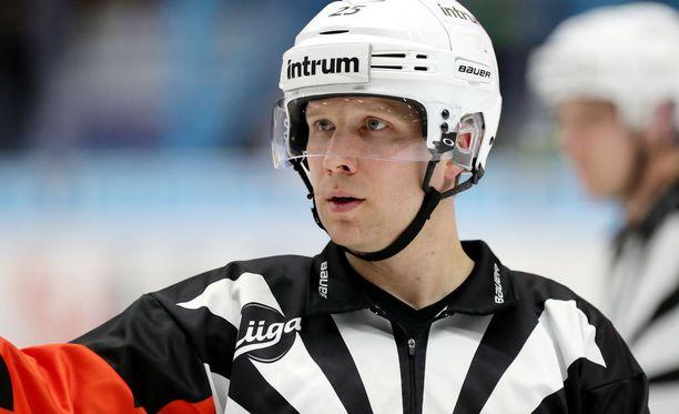 Kiistelty mutta myös kiitelty Aleksi Rantala on jakanut oikeutta jo kolmessa SM-liigan finaalissa.