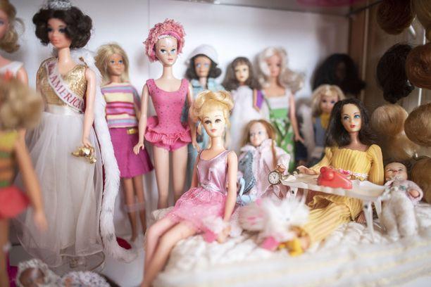 Vintage-Barbiet ovat Melanie Kircherin suosikkeja.
