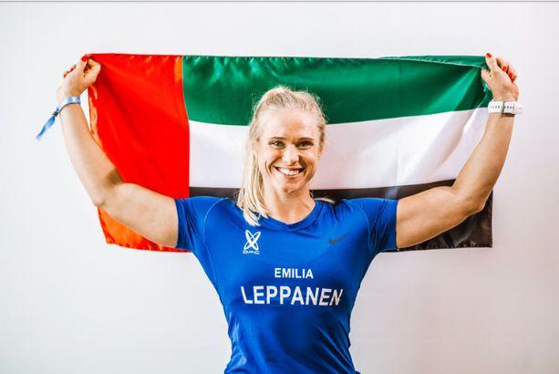 Emilia Leppänen vietti Arabiemiraateissa yhteensä noin kolme ja puoli vuotta.