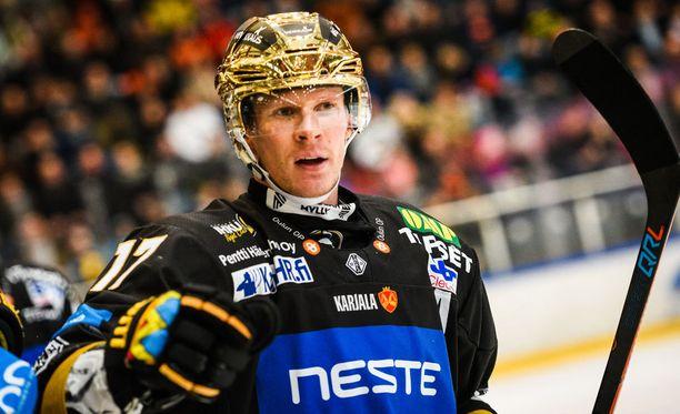 Mika Pyörälä iski tehot 1+1 Kärppien voitossa.