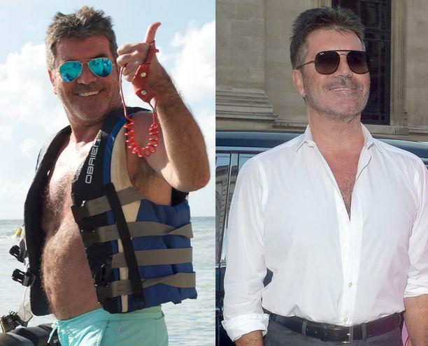 Simon Cowell laittoi elämäntapansa uusiksi ja tuloksena on solakoitunut mies.