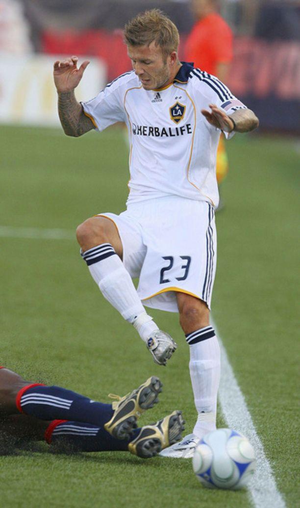 David Beckhamia ollaan taas viemässä Euroopan kentille.