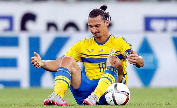 Lauantai ei ollut Zlatanin päivä.