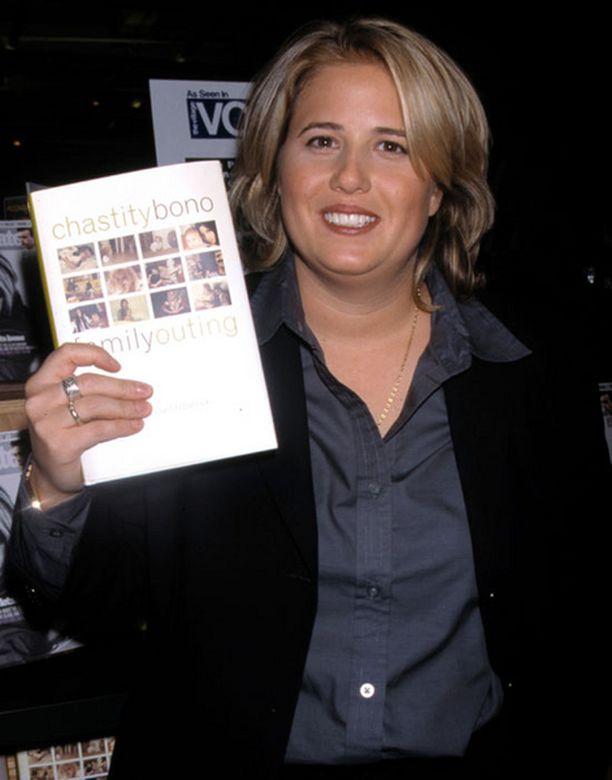 Chastity on kirjailija ja seksuaalivähemmistöjen puolesta toimiva aktivisti. Kuva vuodelta 1998.