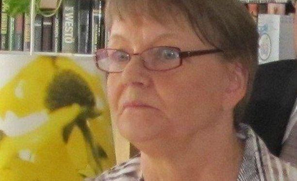 69-vuotias Ulla Juvonen on kateissa.