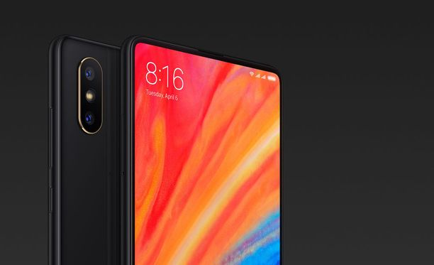 Mi Mix 2S on Xiaomin tuorein älypuhelin.