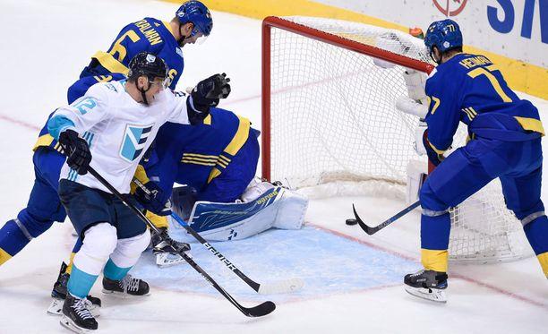 Ruotsi ja Euroopan joukkue taistelevat finaalipaikasta.