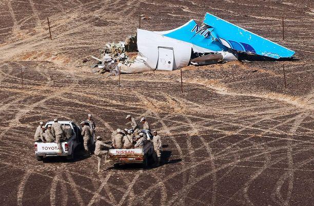 Lentoturmassa kuoli 224 ihmistä, joista lähes kaikki olivat venäläisiä.