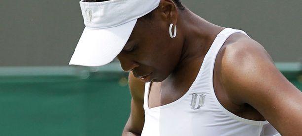 Venus Williams pettyi jälleen.