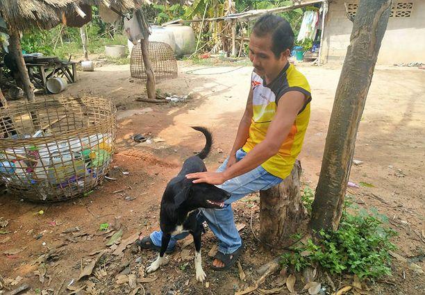 Ping Pongin isäntä Usa Nisaikha kuvaa koiraansa uskolliseksi ja tottelevaiseksi.