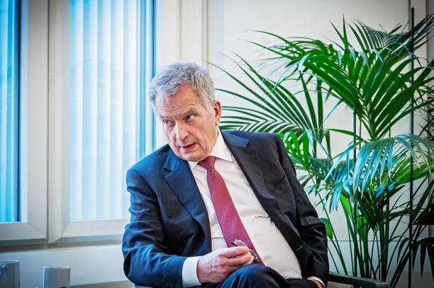 Tasavallan presidentti Sauli Niinistö nosti esiin EU:n näkymättömyyden Afganistanin tilanteessa.