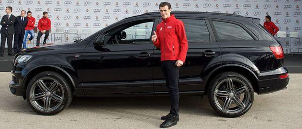 Gareth Bale valitsi monen muun tavoin Q7-mallin.