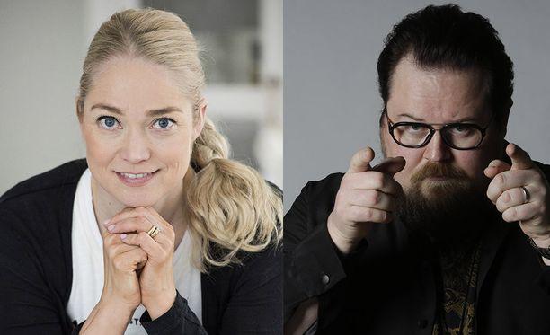Pippa Laukka ja Pete Poskiparta ovat tänään Susanne Päivärinnan vieraina.