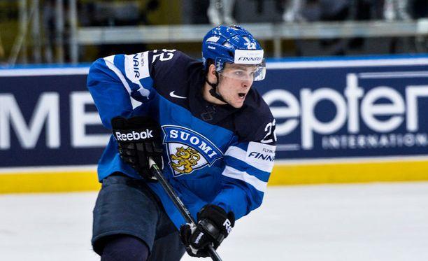 Miikka Salomäki nähtiin viime keväänä Minskin Leijonissa.
