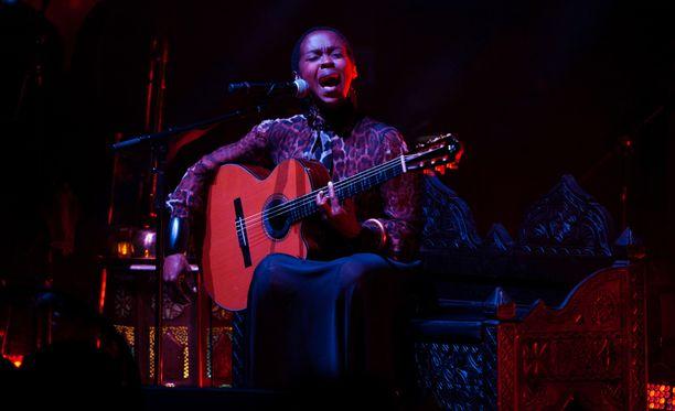 Lauryn Hill saapuu kesällä Poriin.