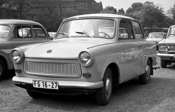 PUU-VILLAA Trabantin vuoksi kommunismilla oli kehno maine.