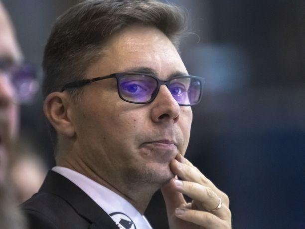 Tuomas Tuokkola ehti valmentaa KooKoota reilun kahden vuoden ajan.