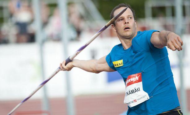 Tero Pitkämäki on 83 metrin kunnossa.