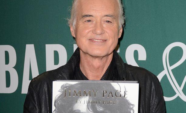 Jimmy Page täytti perjantaina vuosia.