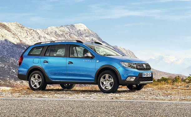 Dacia Logan MCV Stepwayn maavara on 17,4 senttimetriä.