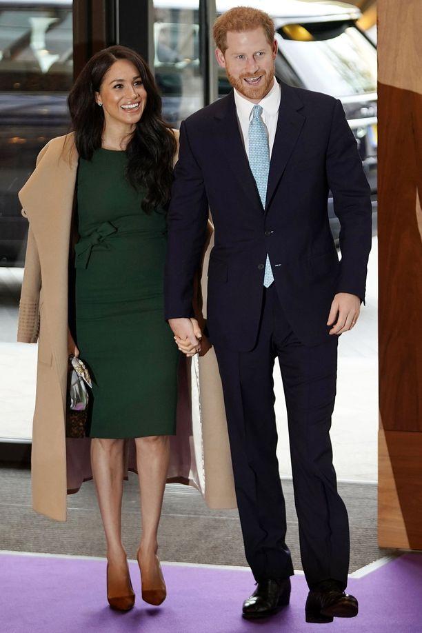 Prinssi Harryn ja herttuatar Meghanin perhe kasvoi perjantaina.