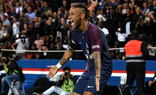 Neymar aloittaa Mestarien liiga -kautensa tänään tiistaina Glasgow'ssa.