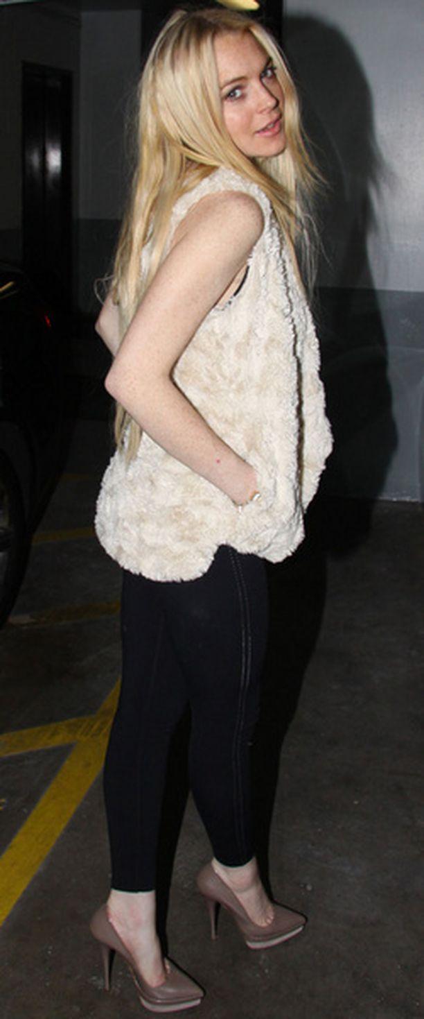 Lindsay Lohan suunnitteli oman näköisensä bile-malliston.