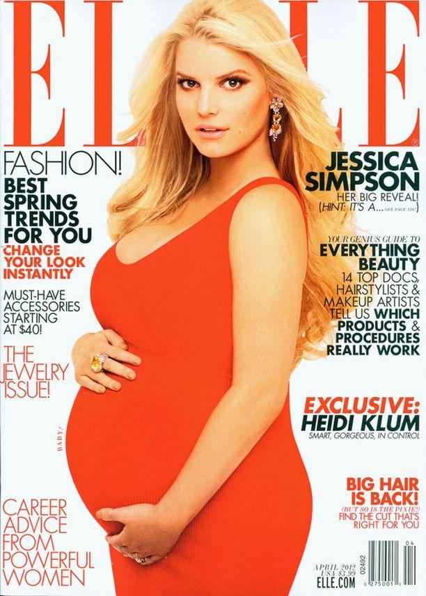 Jessica Simpson ja jälkikasvu.