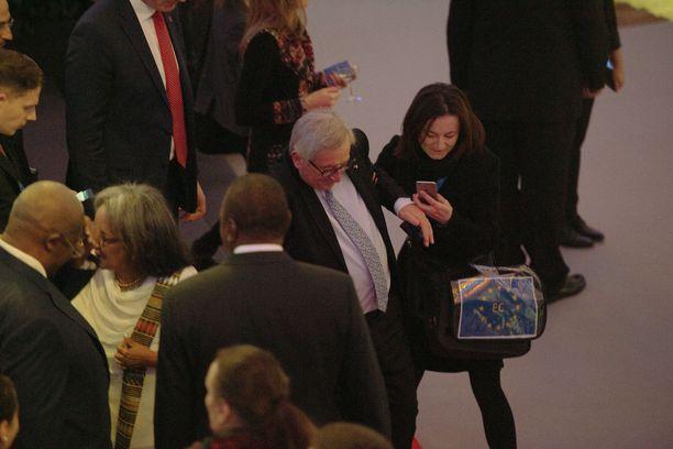 Tässä Juncker horjahtaa.